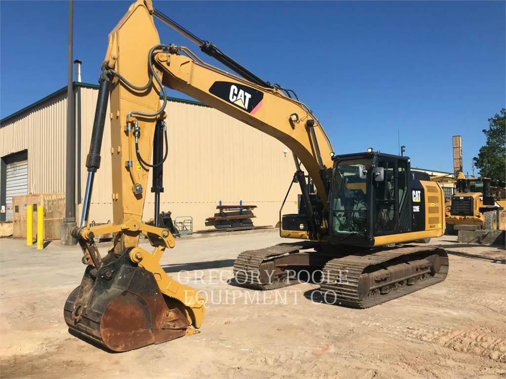 Caterpillar 320E L, Excavadoras de cadenas, Construcción