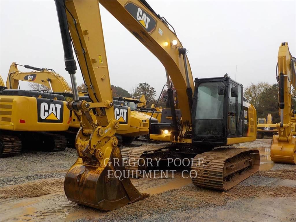 Caterpillar 320E L, Rupsgraafmachines, Bouw