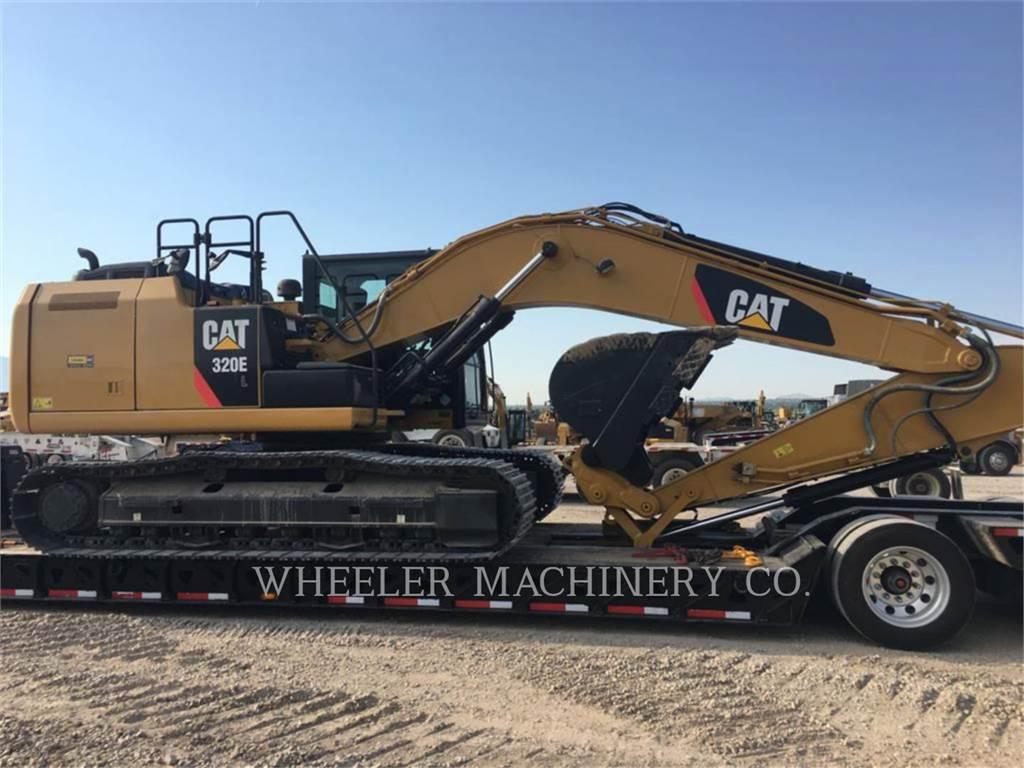Caterpillar 320E L CF, Crawler Excavators, Construction
