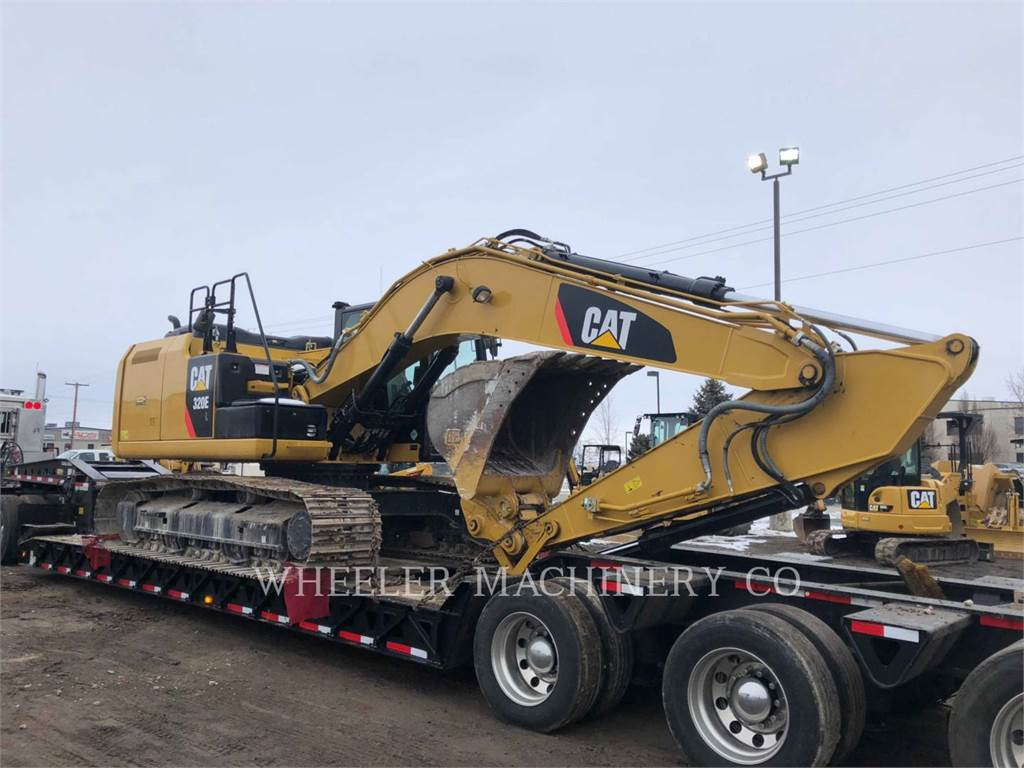 Caterpillar 320E L CF, Crawler Excavators, Construction