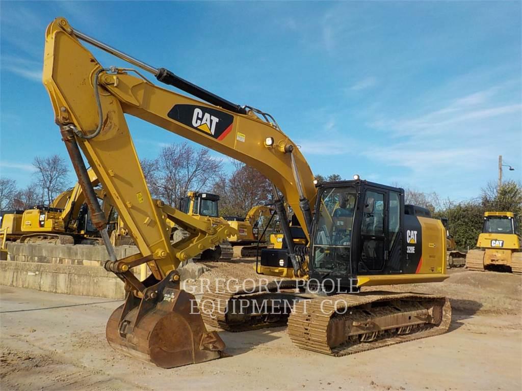 Caterpillar 320E L, Raupenbagger, Bau-Und Bergbauausrüstung