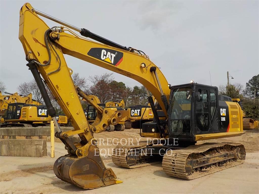 Caterpillar 320E L, Crawler Excavators, Construction