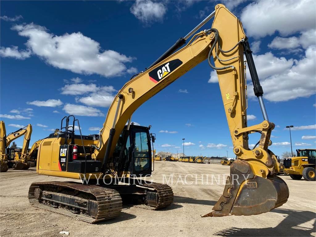 Caterpillar 320EL, Crawler Excavators, Construction
