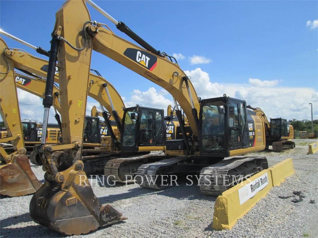 Caterpillar 320EL, Excavadoras de cadenas, Construcción