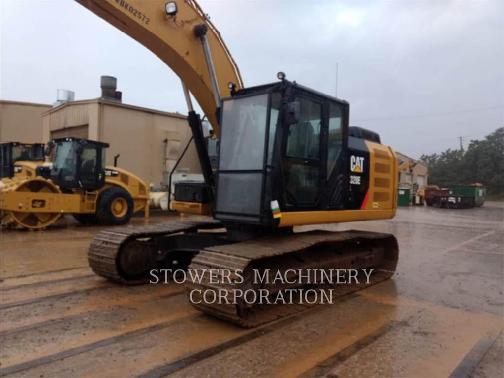 Caterpillar 320EL, Pelle sur chenilles, Équipement De Construction