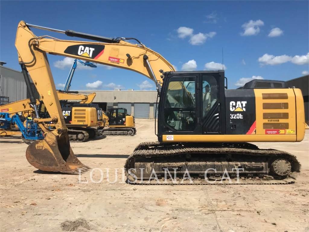 Caterpillar 320EL, Excavatoare pe senile, Constructii