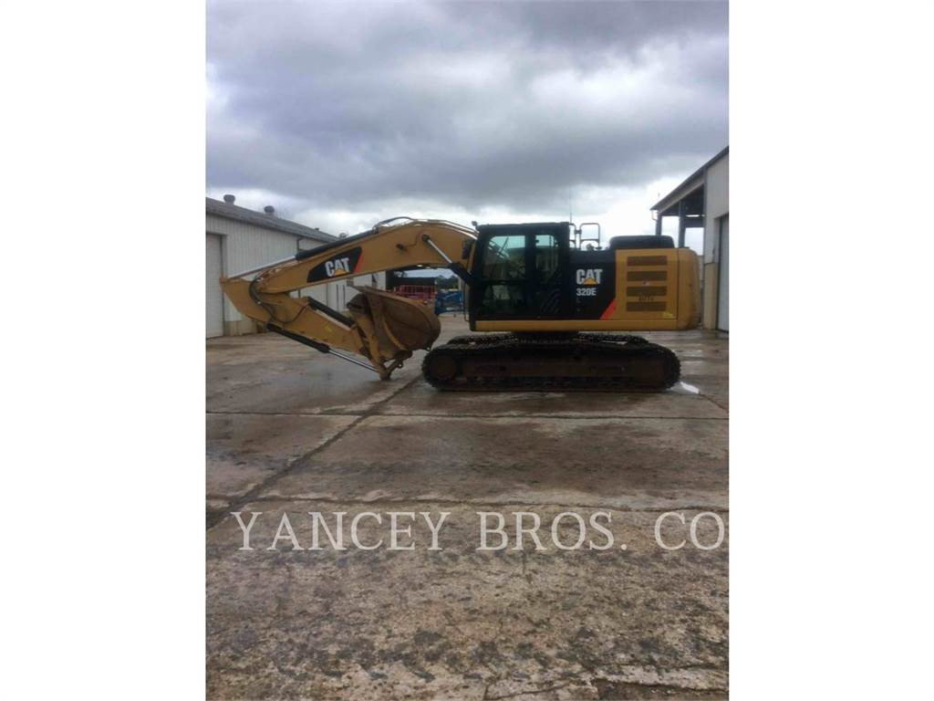 Caterpillar 320EL, Crawler Excavators, Construction