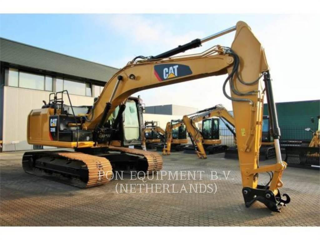 Caterpillar 320EL, Escavadoras de rastos, Equipamentos Construção