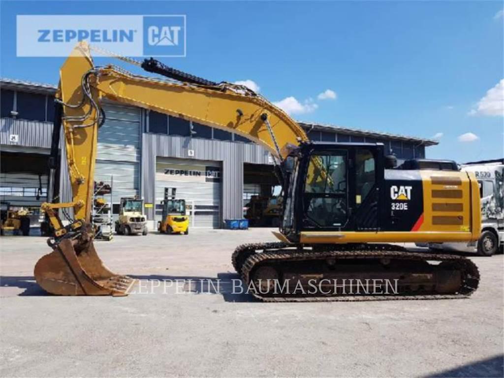 Caterpillar 320EL、クローラー式油圧ショベル(パワーショベル・ユンボ)、建設
