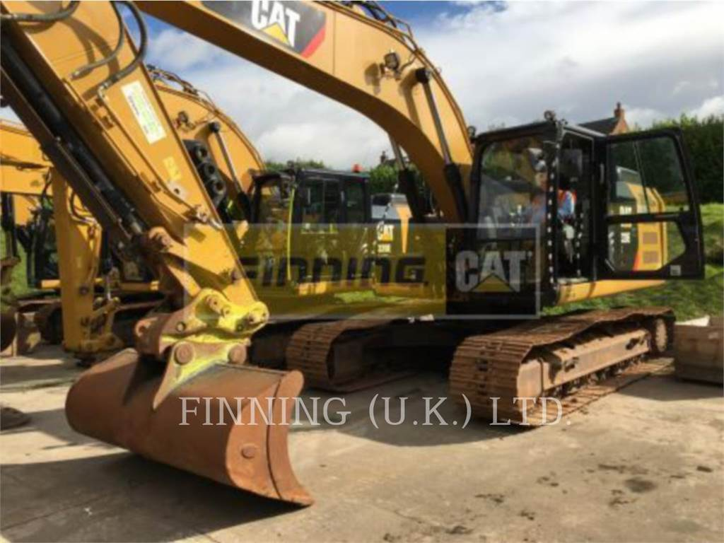 Caterpillar 320EL DCA2, Crawler Excavators, Construction