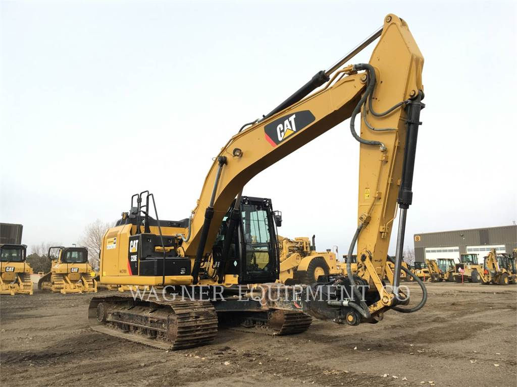 Caterpillar 320EL HMR, Crawler Excavators, Construction