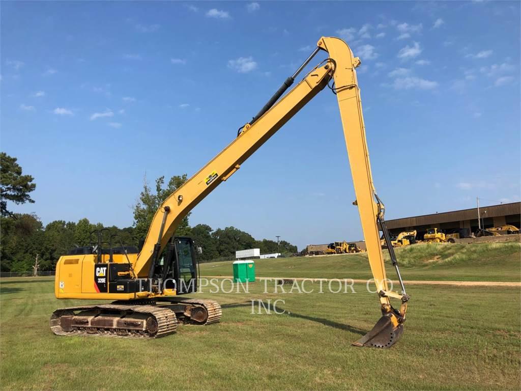 Caterpillar 320EL LR, Pelle sur chenilles, Équipement De Construction