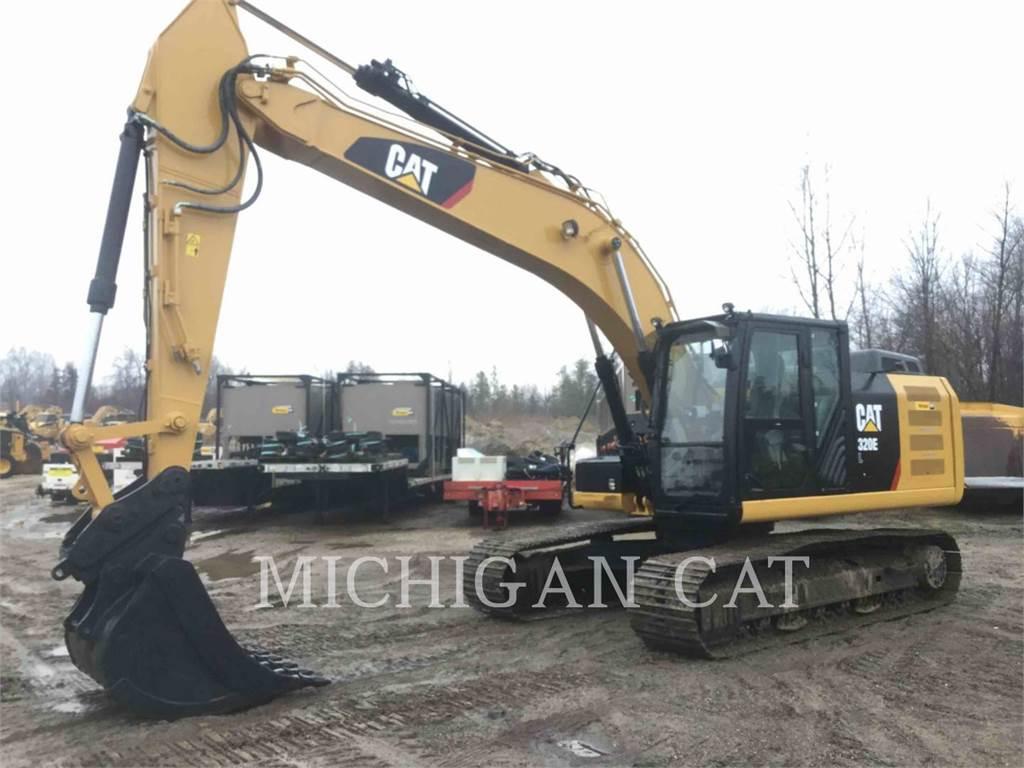 Caterpillar 320EL PMQ, Excavadoras de cadenas, Construcción