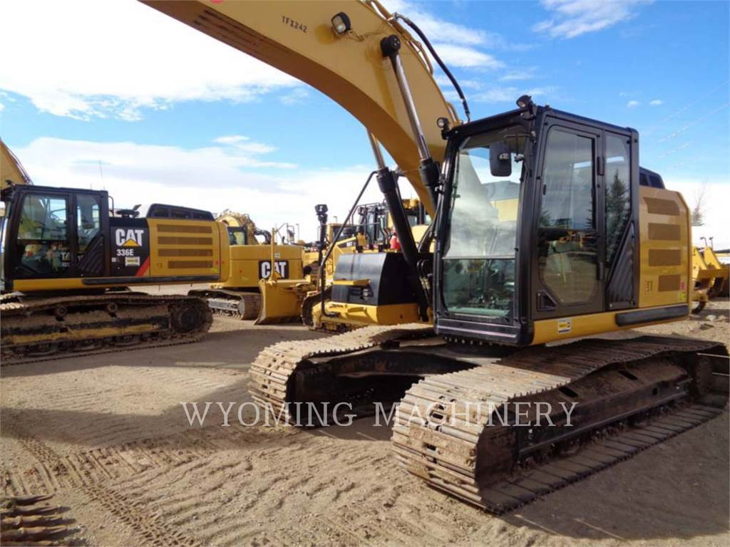 Caterpillar 320EL RR, Crawler Excavators, Construction