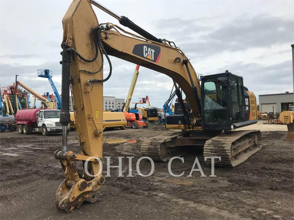 Caterpillar 320EL TC, Pelle sur chenilles, Équipement De Construction