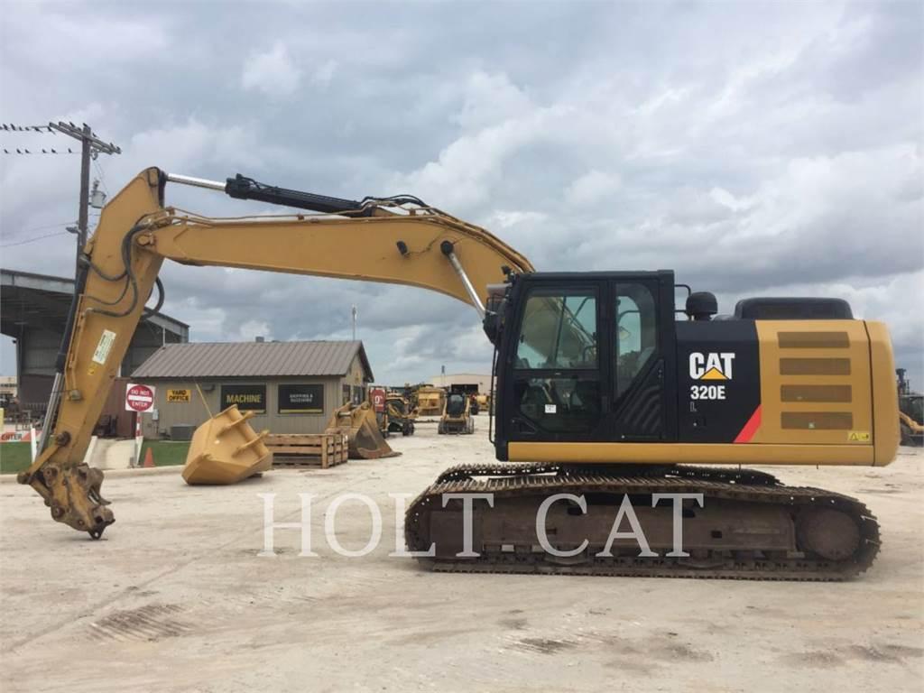 Caterpillar 320EL TC, Excavatoare pe senile, Constructii