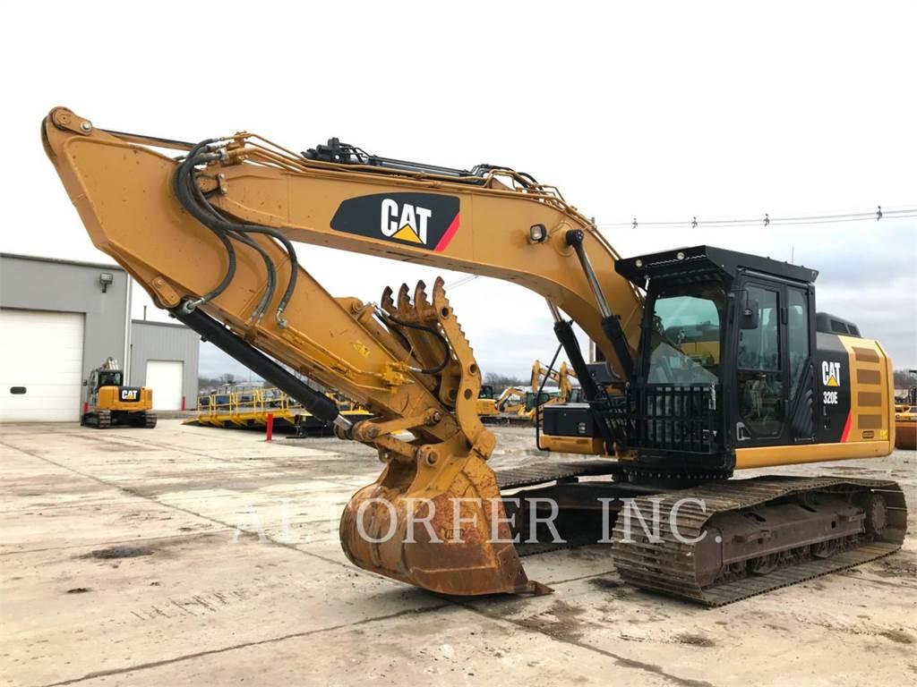 Caterpillar 320EL TH, Excavadoras de cadenas, Construcción
