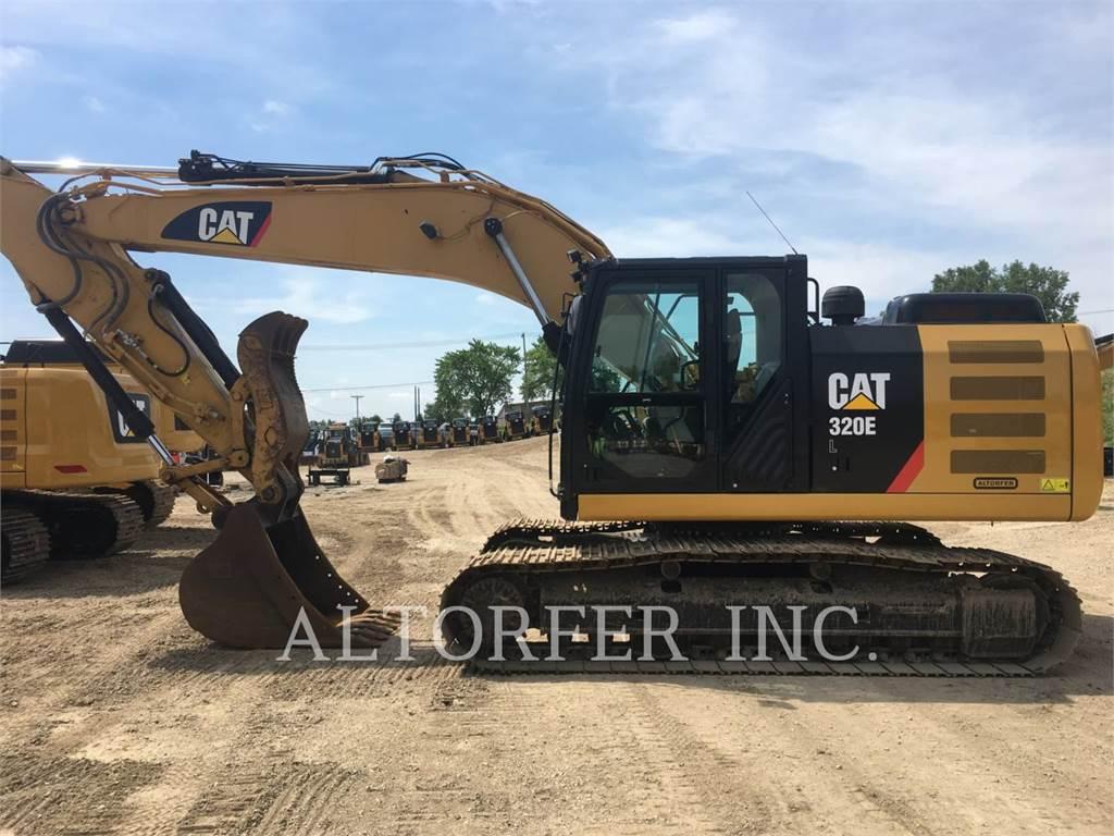 Caterpillar 320EL TH, Raupenbagger, Bau-Und Bergbauausrüstung