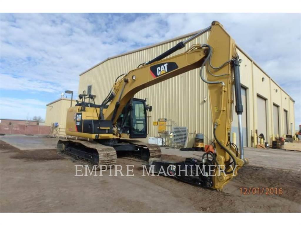 Caterpillar 320ELRR, Excavadoras de cadenas, Construcción