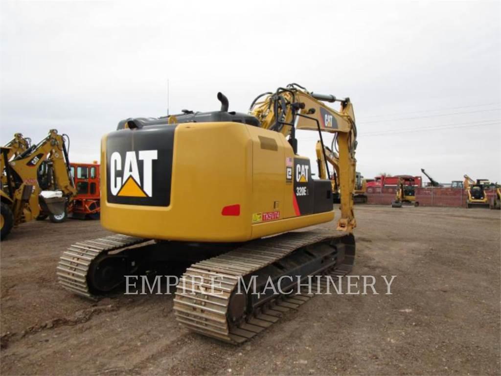 Caterpillar 320ELRR、クローラー式油圧ショベル(パワーショベル・ユンボ)、建設