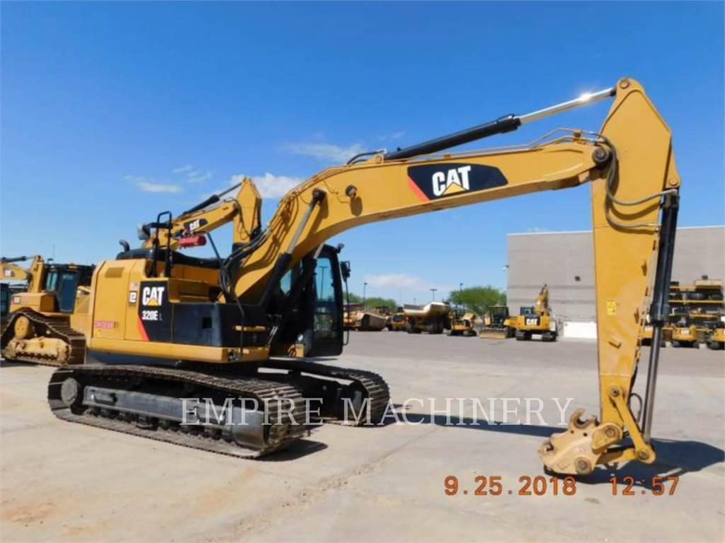 Caterpillar 320ELRR, Escavatori cingolati, Attrezzature Da Costruzione