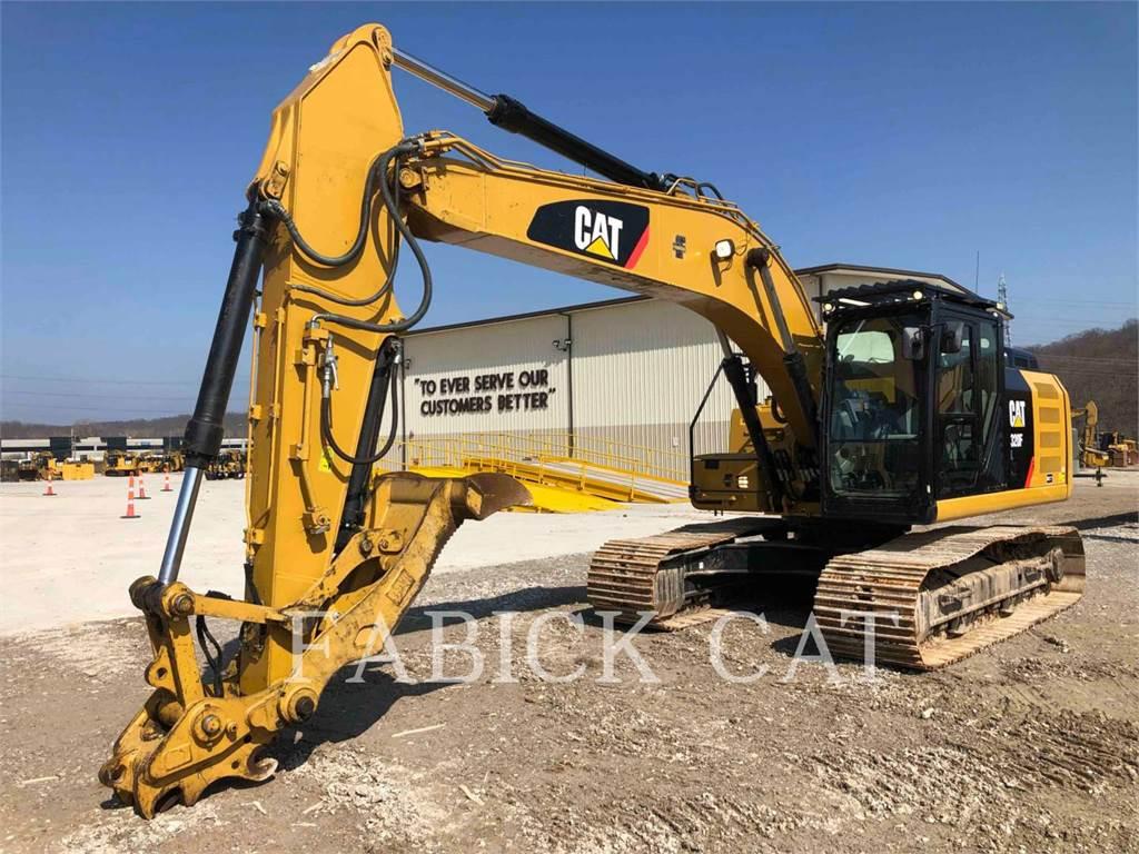 Caterpillar 320F HT, Excavatoare pe senile, Constructii