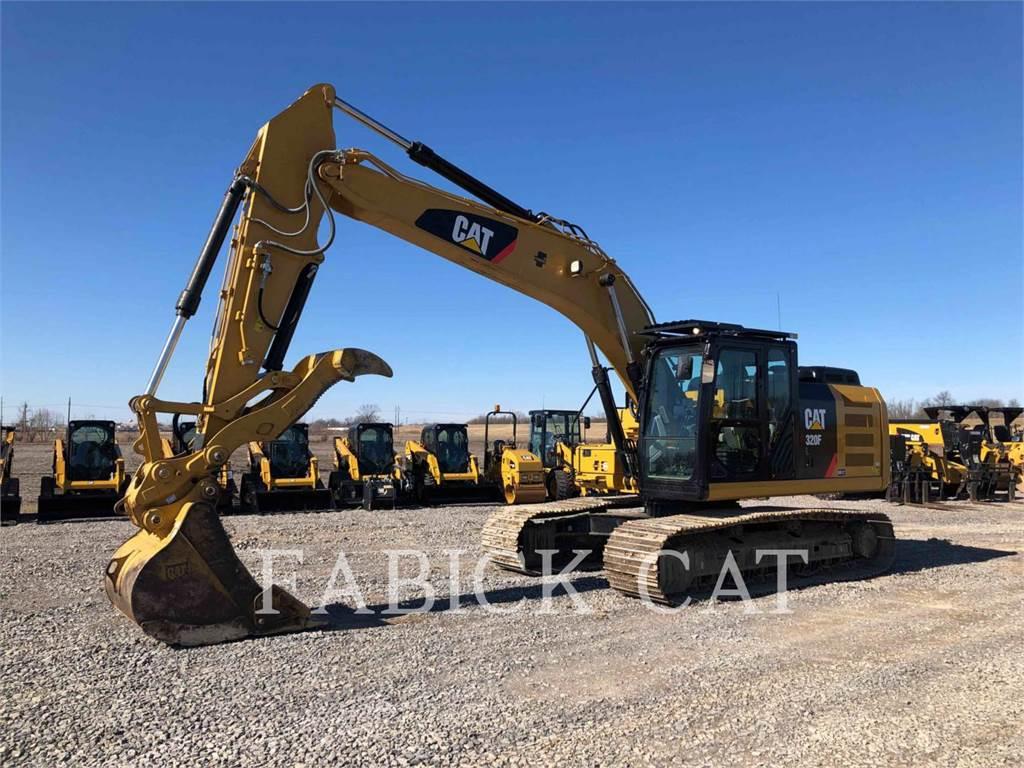 Caterpillar 320F HT, Pelle sur chenilles, Équipement De Construction