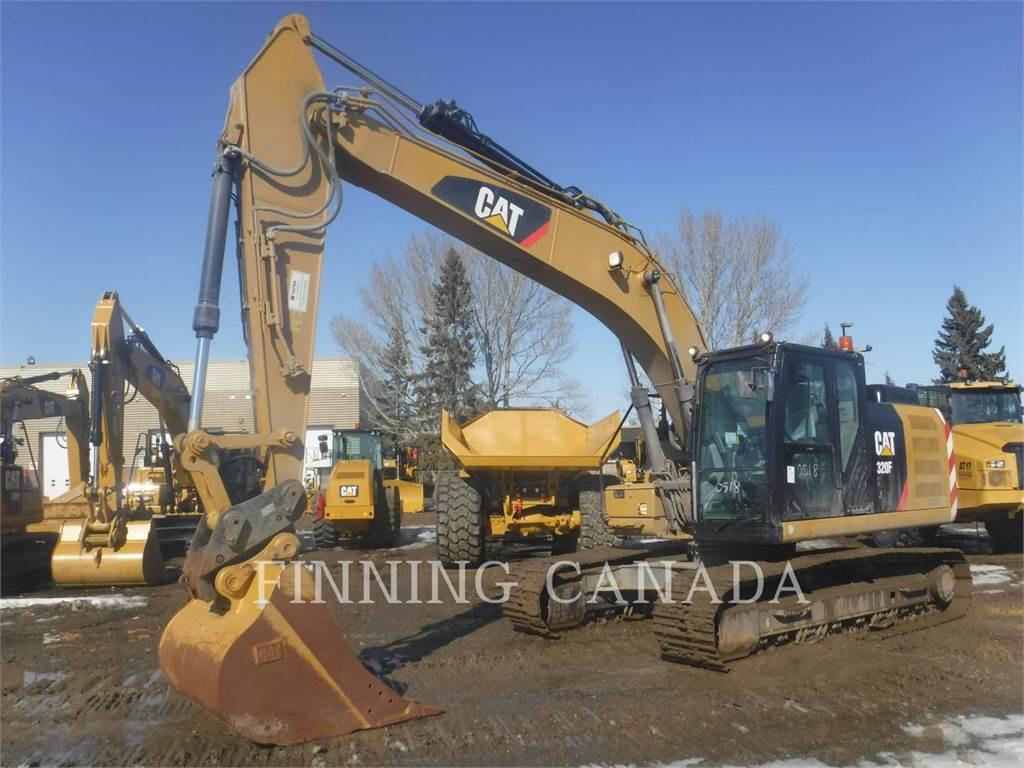 Caterpillar 320FL, Escavadoras de rastos, Equipamentos Construção