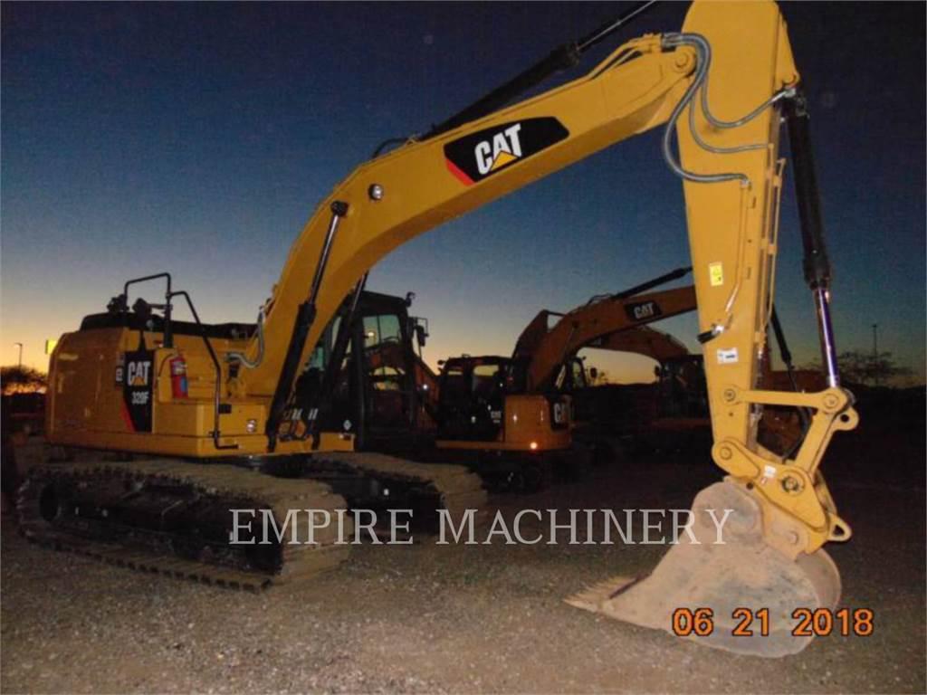 Caterpillar 320FL, Koparki gąsienicowe, Sprzęt budowlany