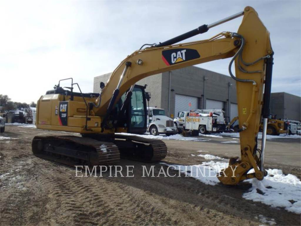 Caterpillar 320FL, Crawler Excavators, Construction