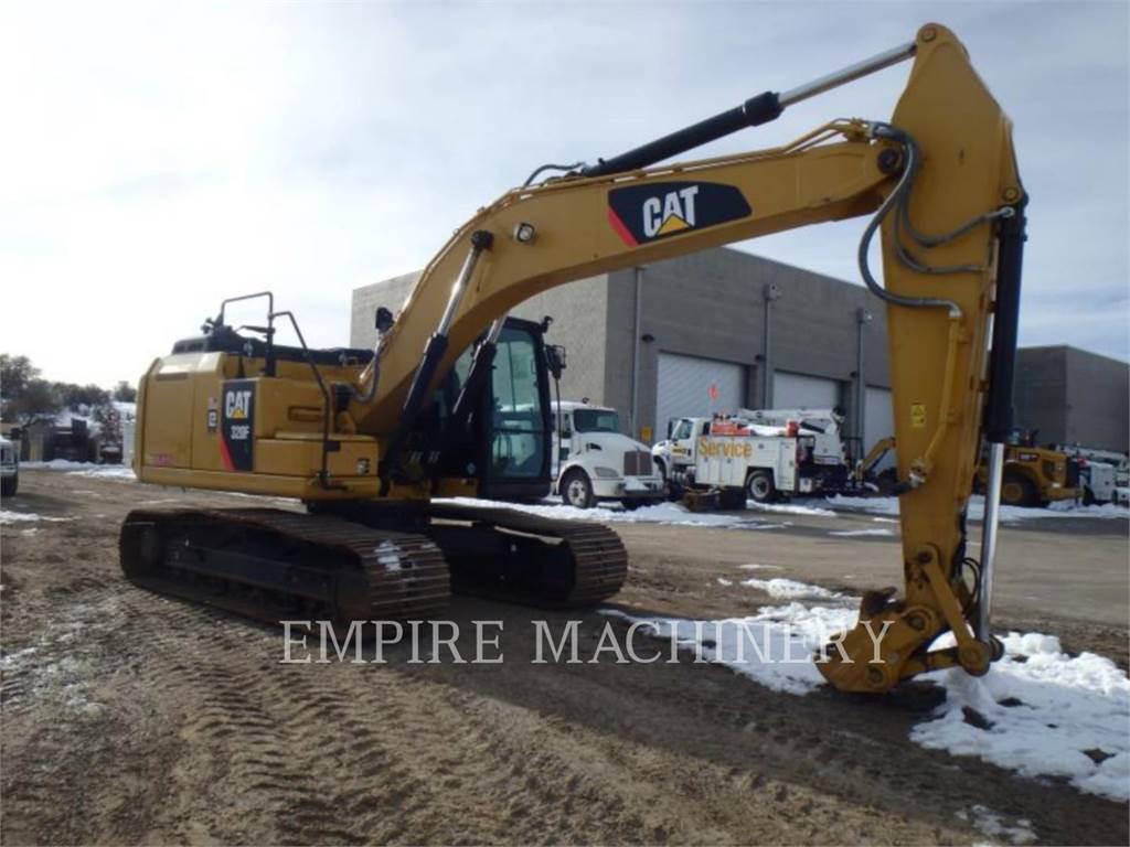 Caterpillar 320FL、クローラー式油圧ショベル(パワーショベル・ユンボ)、建設