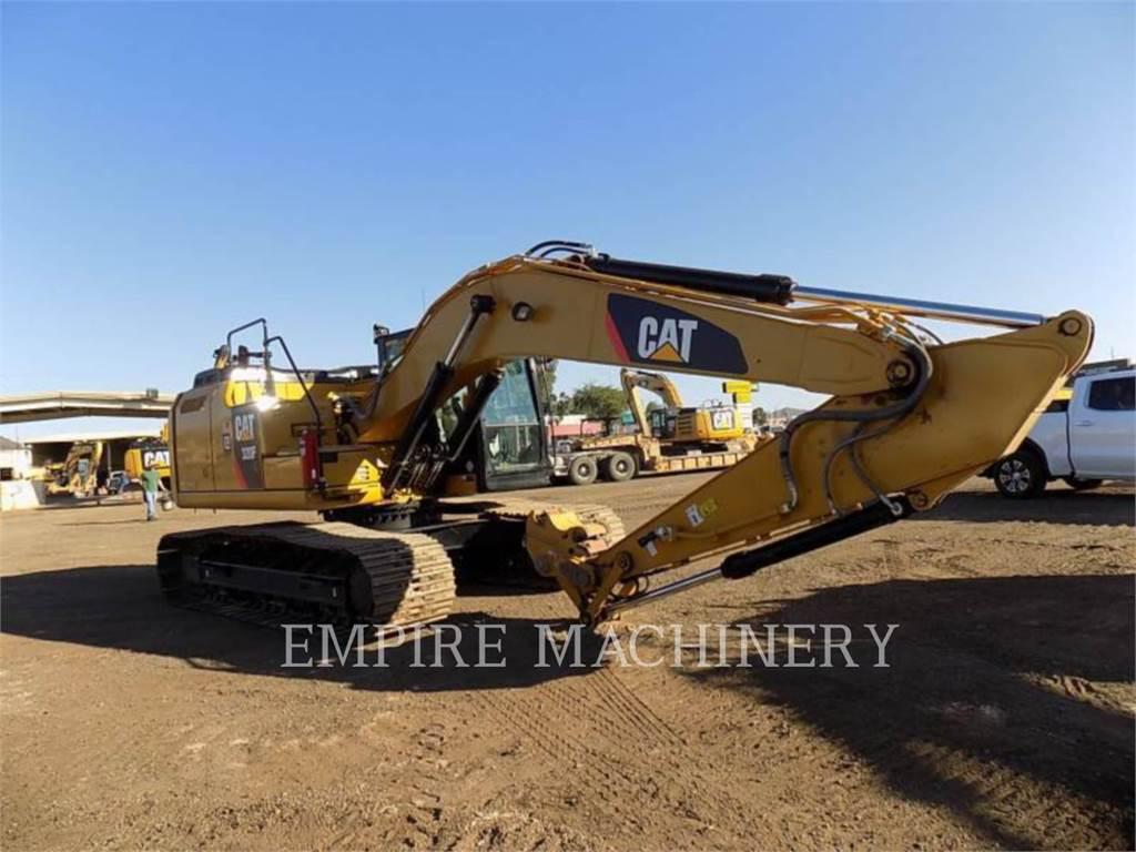Caterpillar 320FL, Excavadoras de cadenas, Construcción