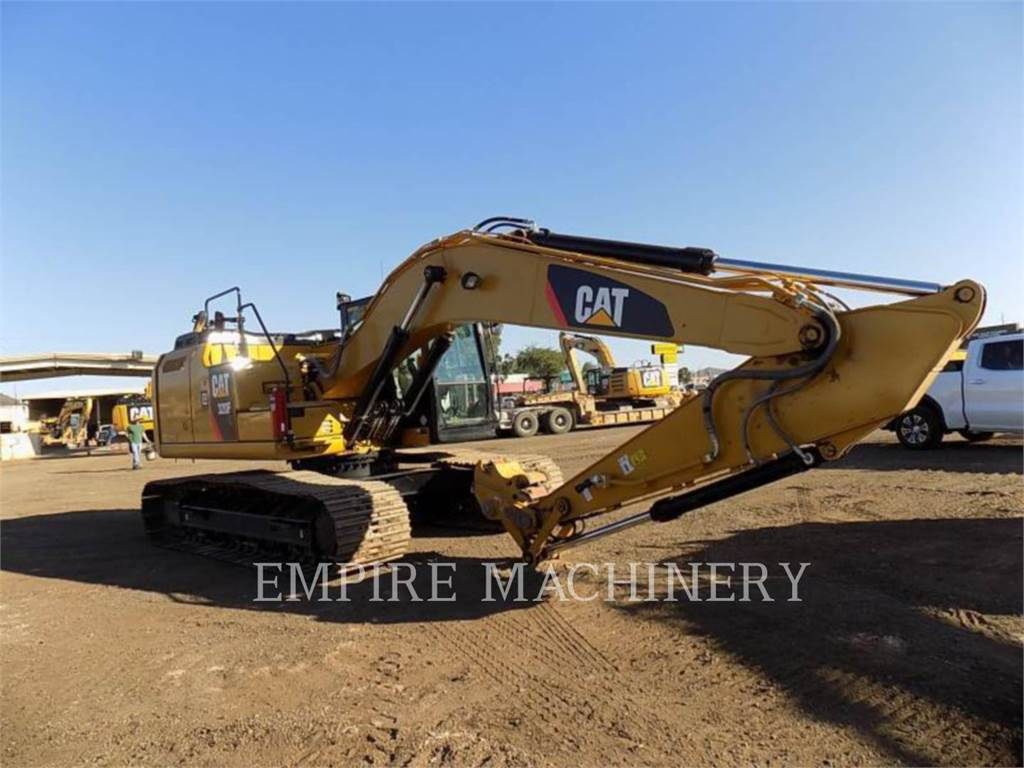 Caterpillar 320FL, Raupenbagger, Bau-Und Bergbauausrüstung