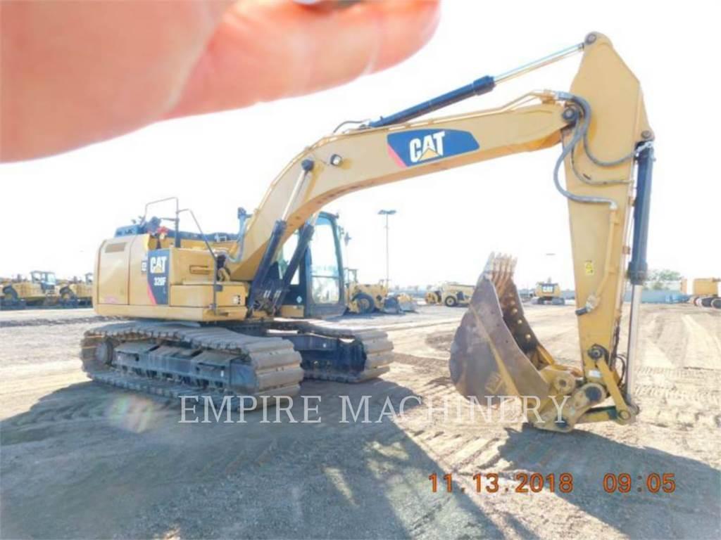 Caterpillar 320FL, Pelle sur chenilles, Équipement De Construction