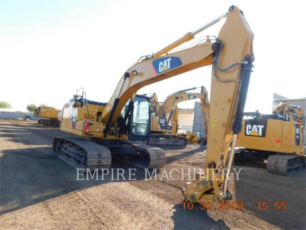 Caterpillar 320FL, Excavatoare pe senile, Constructii