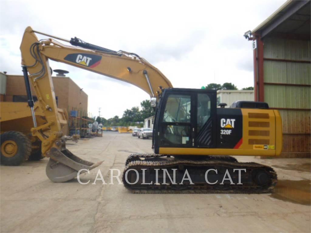 Caterpillar 320FL QC, Гусеничные экскаваторы, Строительное