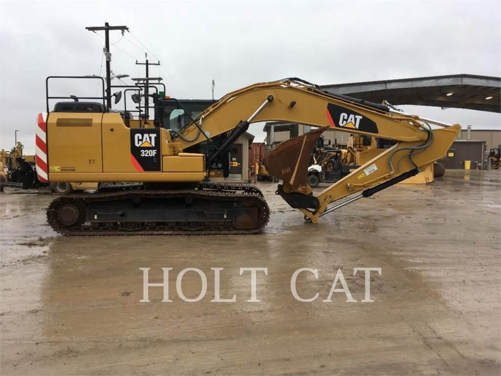 Caterpillar 320FL TC, Crawler Excavators, Construction