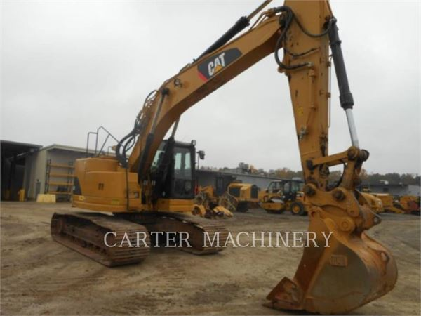 Caterpillar 321 D LCR、クローラー式油圧ショベル(パワーショベル・ユンボ)、建設