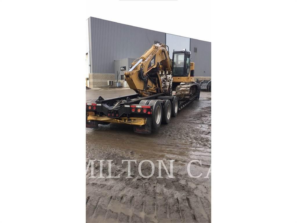 Caterpillar 321CLCR, Excavadoras de cadenas, Construcción