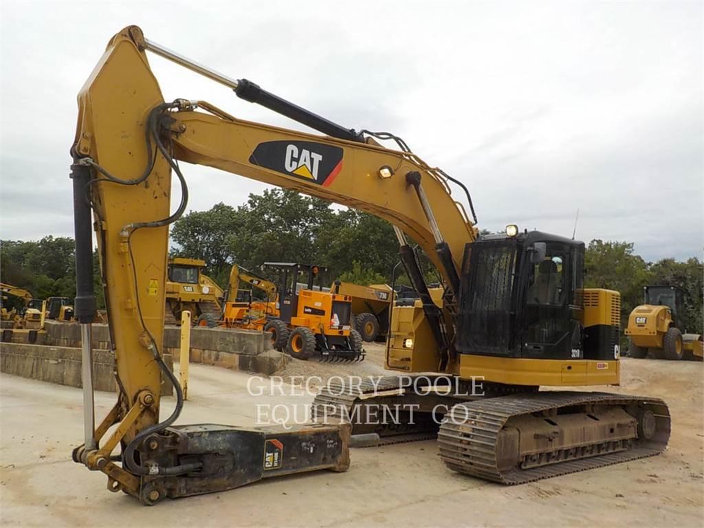 Caterpillar 321D LCR, Crawler Excavators, Construction