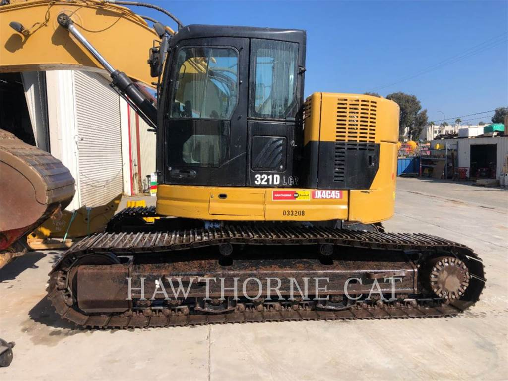 Caterpillar 321D LCRTH, Pás carregadoras de rodas, Equipamentos Construção