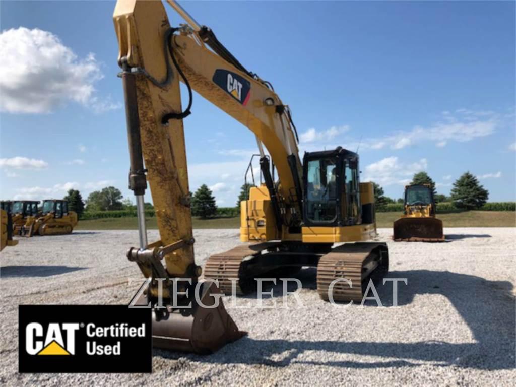 Caterpillar 321DCRH2, Excavadoras de cadenas, Construcción