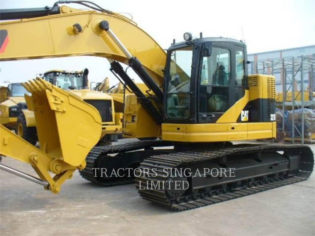 Caterpillar 321DLCR, Pelle sur chenilles, Équipement De Construction