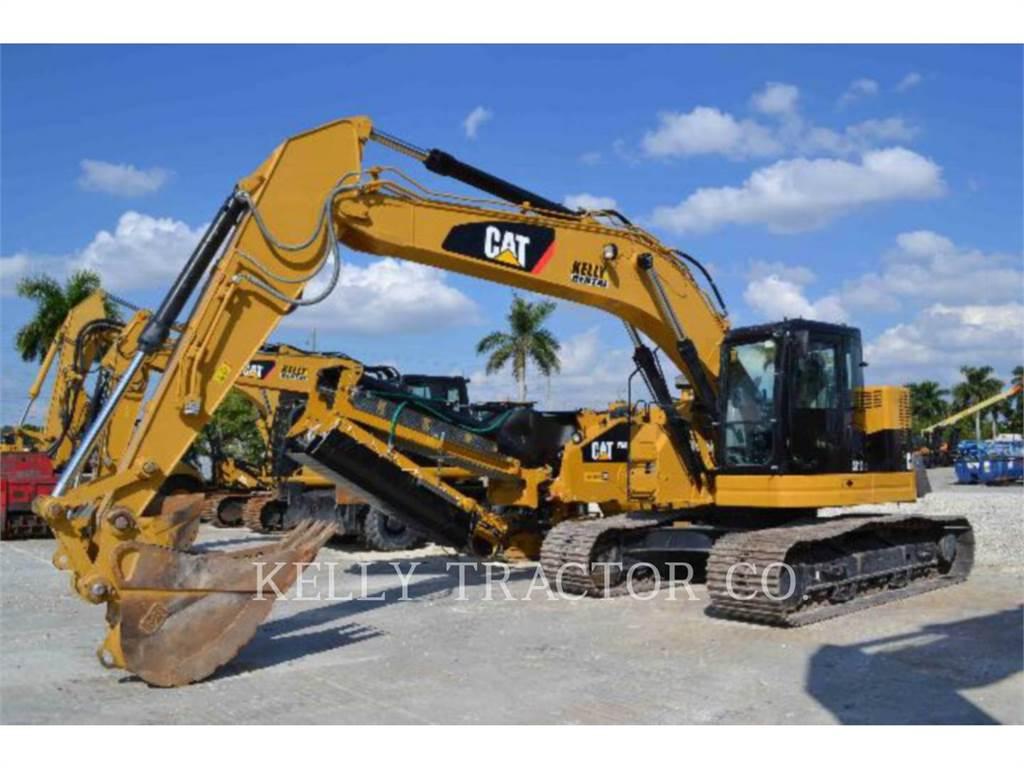 Caterpillar 321DLCR, Koparki gąsienicowe, Sprzęt budowlany