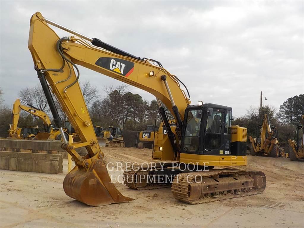 Caterpillar 321DLCR, Excavadoras de cadenas, Construcción