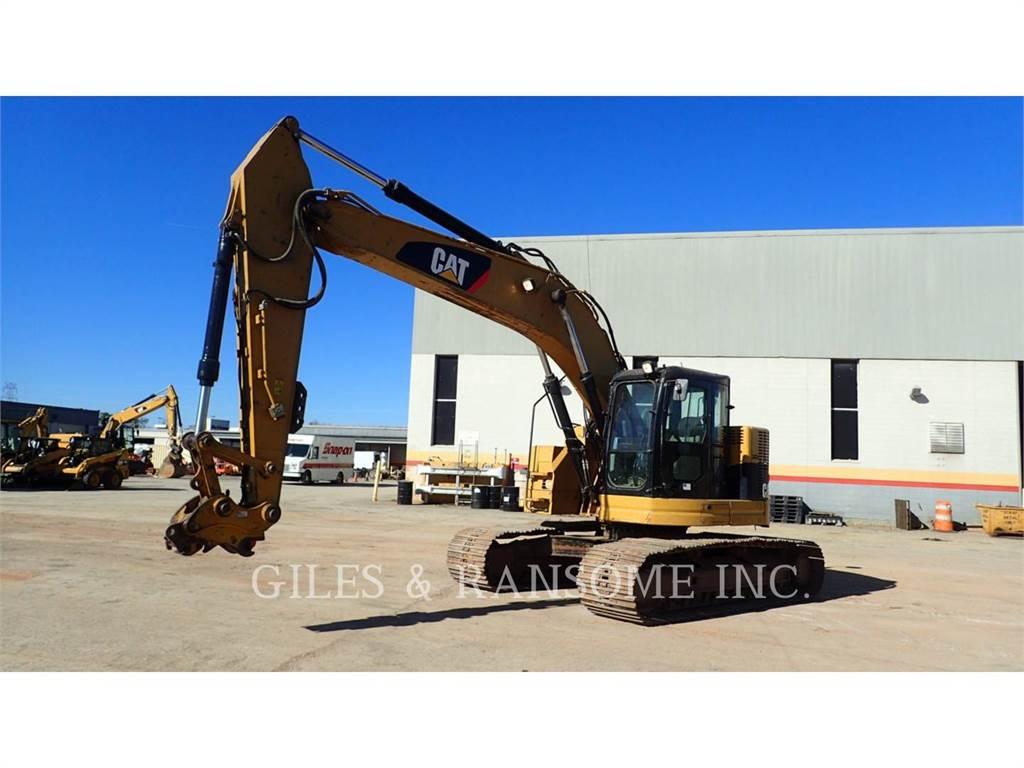 Caterpillar 321DLCR、クローラー式油圧ショベル(パワーショベル・ユンボ)、建設