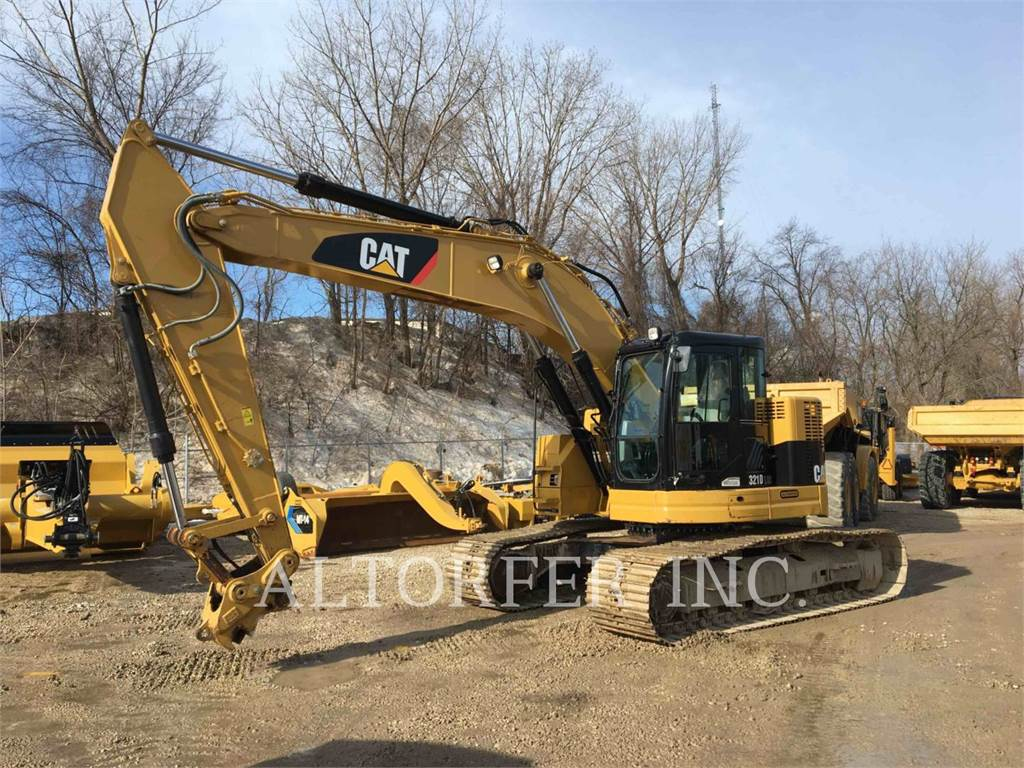 Caterpillar 321DLCR, Raupenbagger, Bau-Und Bergbauausrüstung