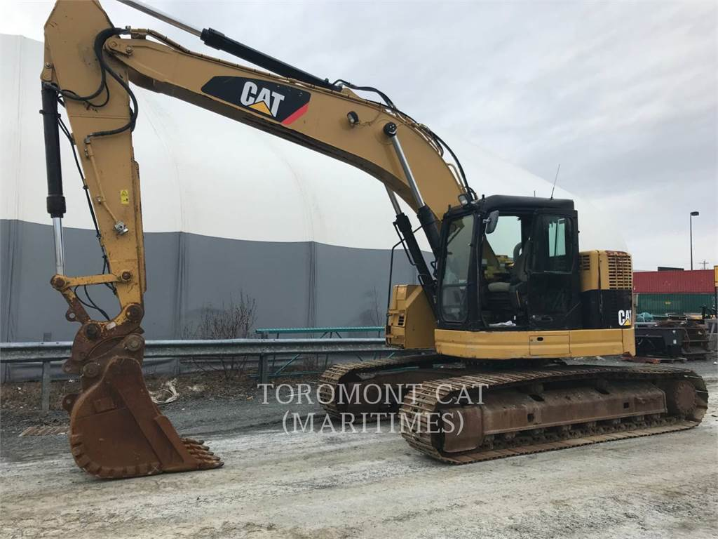 Caterpillar 321DLCR, Crawler Excavators, Construction