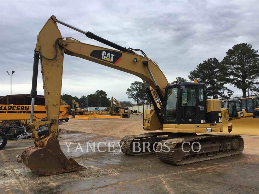 Caterpillar 321DLCR, Crawler Excavators, Construction