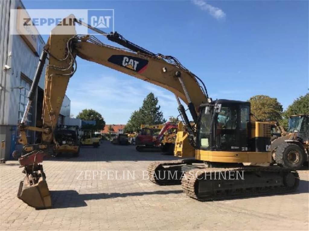 Caterpillar 321DLCR, Excavatoare pe senile, Constructii